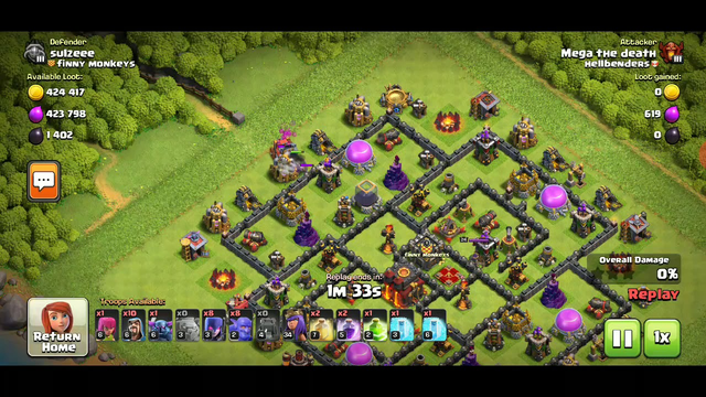 Town hall 10 bowitch attack - clash of clans 24 October 2020