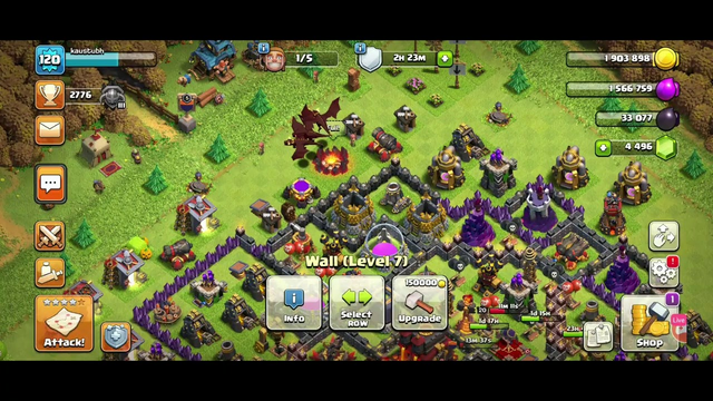 Clash of Clans  for MKH GAMER  !! Thanks  100 subscribers  !!
