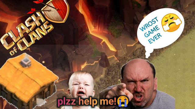 plzz help me! | how can i play this game| clash of clan| coc|