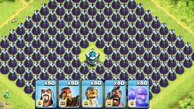 Most Satisfying Clash Of Clans Attack New Update