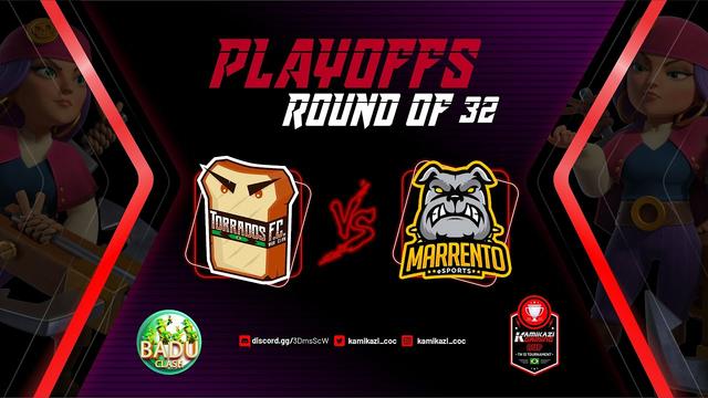 TORRADOS F.C. x MARRENTOS eSports / KAMIKAZI CUP - SEASON 2 / clash of clans