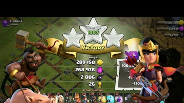 TH10 Hybrid Attack Strategy..Coc || Clash of clans ||