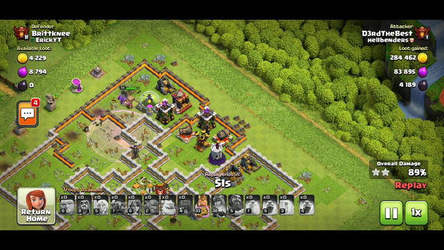 Town hall 11 - the falcon strikes again - clash of clans