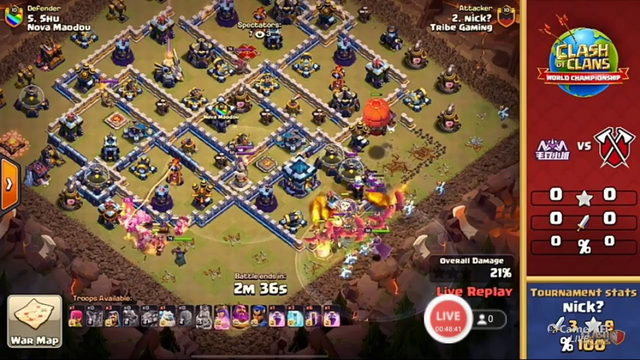 CLASH OF CLANS(TH9) PART 1