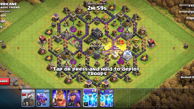 Clash of clans with dragon king and queen dhasu game