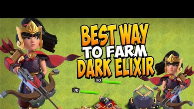 how to farm dark elixer fast on th9 clash of clans|clash of clans dark farming|dark farming in coc|