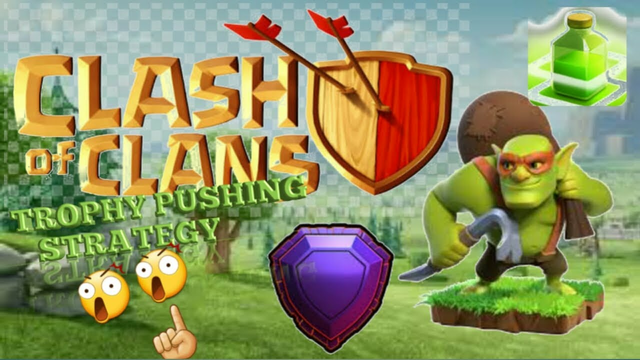 CLASH OF CLANS|TROPHY PUSHING STRATEGY|FROM TH 11|USING SNEAKY GOBLIN & Jumb and range spell|lowcost
