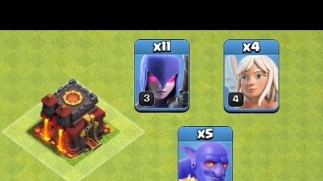 Th10 Witch Slap Attack Strategy...... Clash Of Clans......COC......