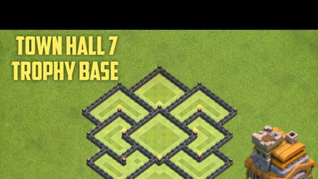 Best New TH7 Base   Town Hall 7 Trophy Base   Clash of Clans