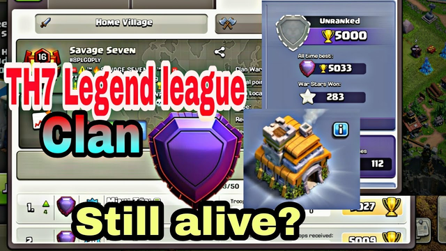 TH7 Legend league Clan - Still alive? 90% of clashers doesn't know this!!!!  Clash of clans 2020
