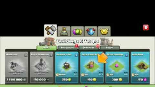 clash of clans level up from town hall 1 to 13 in one video