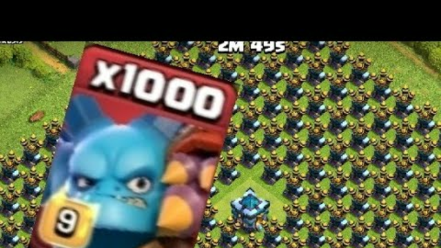 Super minions VS base full of air defence. Clash of clans.