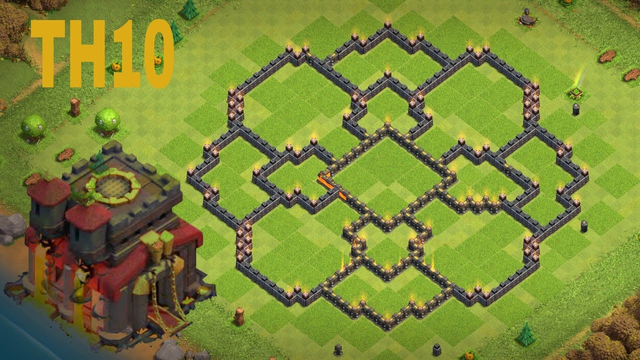 New Best Trophy Defense Base 2020 / Town Hall 10 Clash of Clans