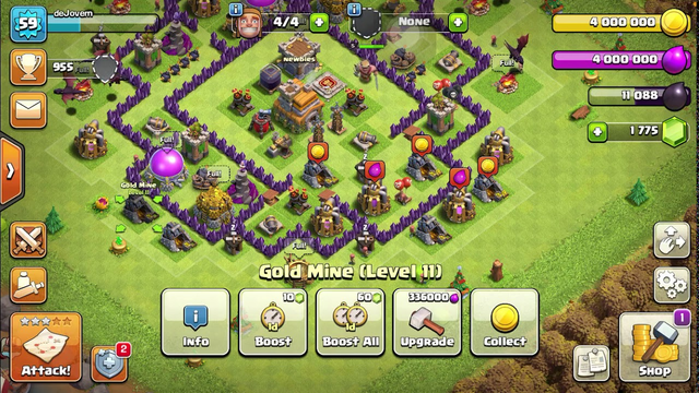 TH 7 MAX Clash of Clans