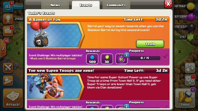 Clash Of Clans Live | Clash Of Clans Live War Attacks And Base Visit | Donation On Screen Enable....