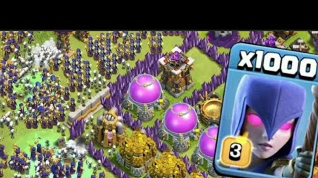1000 Witch Zombie Attack on COC / NEW Modded Apps