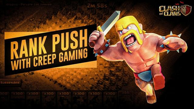 Th7 Live Rank Pushing With Masti   Clash Of Clans - Creep Gaming