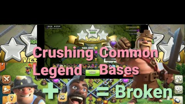 Best TH13 Attack Strategy | Clearing Max TH 13 Legend League Bases | Clash Of Clans
