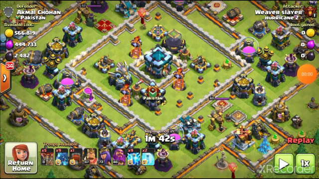 Best defense base base of clash of clans latest attack