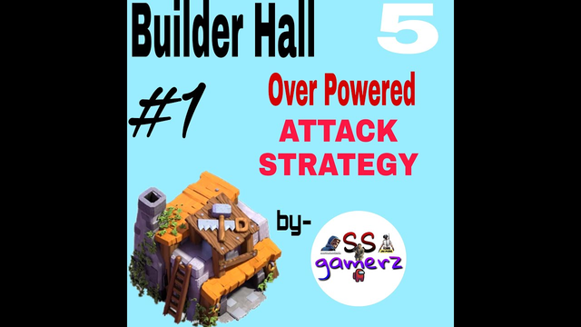 Clash of Clans | Builder Base 5 | Over Powered Attack Strategy | With Cannon Cart