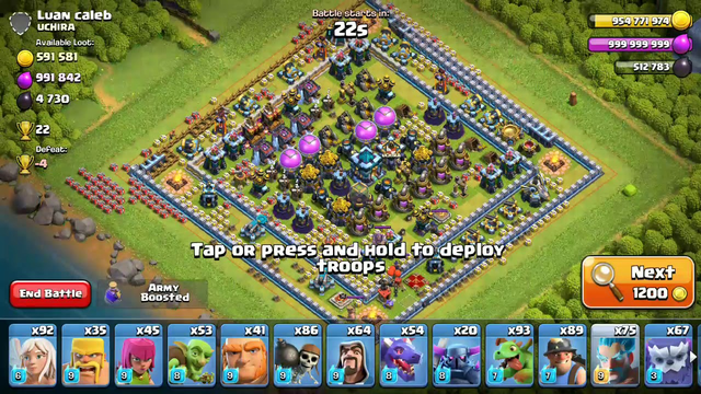 Clash of clans Attack #1