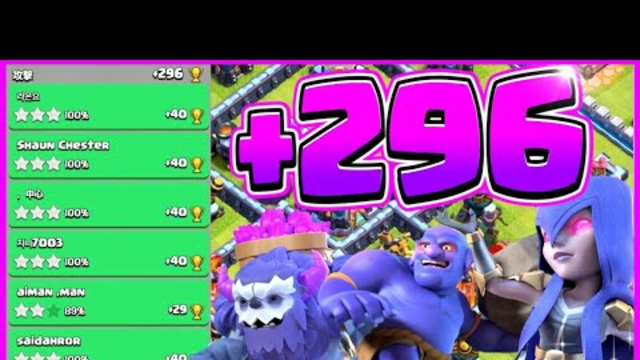 After Update! Legend League Attacks! Yeti BoWitch Attack Strategy! TH13 Clash of Clans