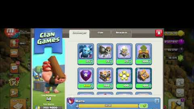 Clash of Clans October 2020 Clan Games. Close in less that 2 hours. Part 1