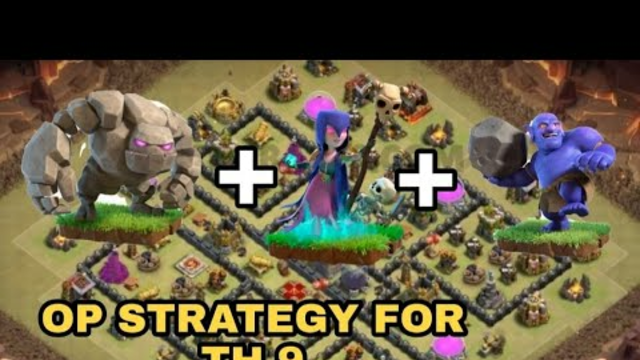 COC TH 9 BEST STRATEGY GOWIBO.... EASY 3 STAR WITHOUT QUEEN..!!