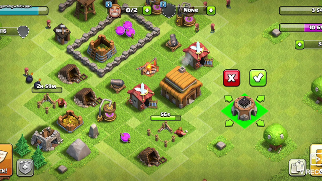 town hall 3 tips en tricks clash of clans ep 3