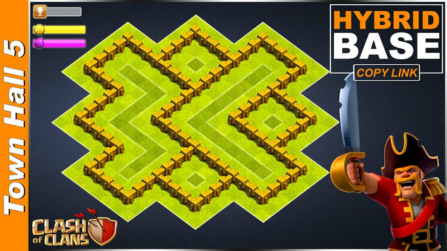 NEW BEST TH5 Base [FARMING/TROPHY] with COPY LINK 2020 | Town Hall 5 Base [DEFENSE] - Clash of Clans