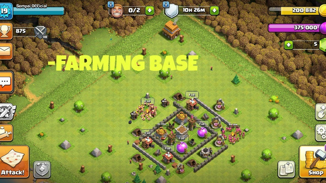 CLASH OF CLANS | TH4 FARMING BASE WITH LINK 2020