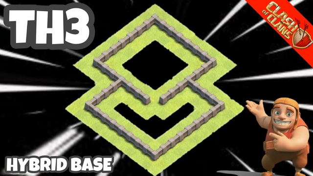 NEW BEST TH3 BASE WAR/FARMING/TROPHY BASE - TH3 BASE WITH LINK 2020 - CLASH OF CLANS