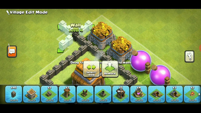NEW DESIGN AND NEW DEFENCE FOR CLASH OF CLANS TOWN HALL 4