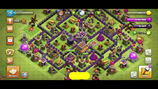 TH 8 ATTACK STRATEGY    CLASH OF CLANS
