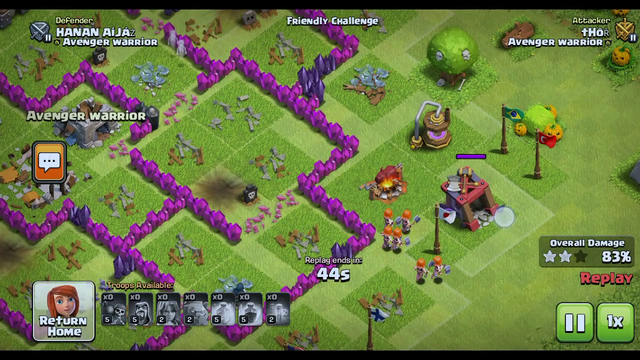 How to attack in clash of clans town hall 8 to seven