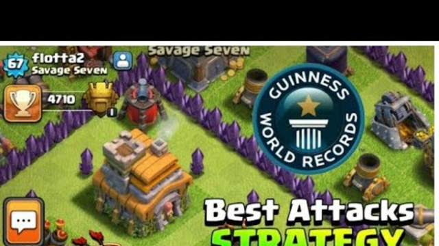 Best Attack Strategy for Th7 In Clash of clans!