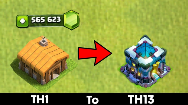 TH1 to TH13 :COC TH1 to TH13 TIME-LAPSE | Geming ASMR