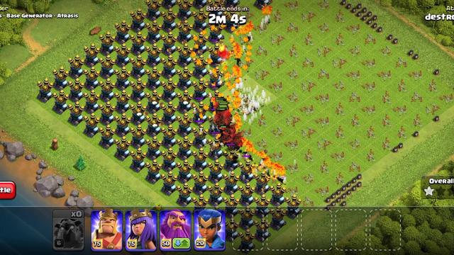 Clash of Clans: 100 Max Lava Hounds vs Max Air Defences