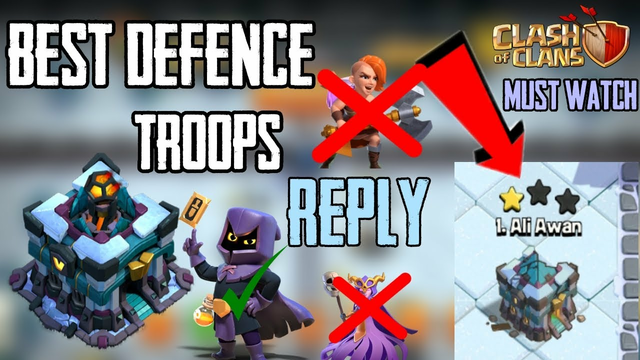 Strong Defense War CC | Donate in War | Th13 Replys| Best Defending Troops coc| clash of clans