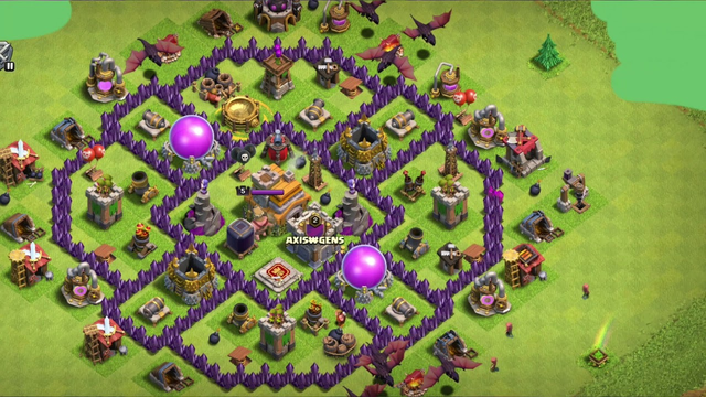 MY clash of clans journey to th5 to th12