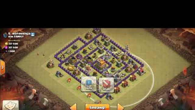 Clash Of Clans Town Hall 7 GamePlay