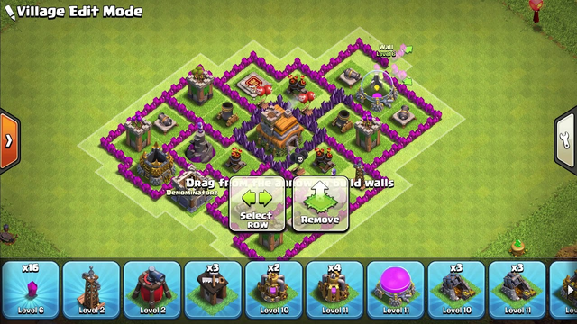 Clash of Clans Town hall 7 base p