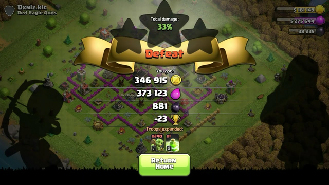 Clash Of Clans : Town Hall 10 Farming With Goblin Army #FarmingClanStory