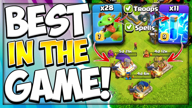 Best Dark Elixir Strategy 4 TH9 & Up! Proof This Farming Army is the Easiest in Clash of Clans