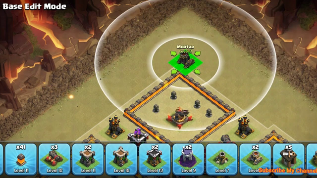 HOW TO MAKE TOWN HALL 10 BEST WAR BASE || Clash Of Clans.