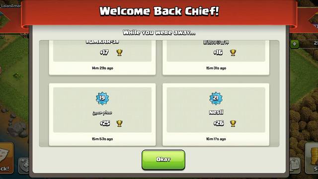 Wow! what a defence in Clash of Clans