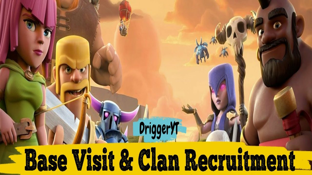 Clash of Clan Base Visit Now - New Update Pirate Scenery COC ? | DriggerYT