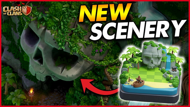 GETTING THE NEW PIRATE SCENERY IN CLASH OF CLANS!! | Farm to Max Town Hall 13