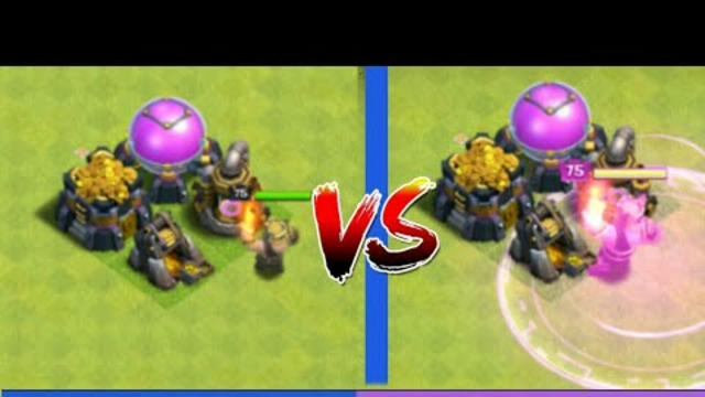 Barbarian King With Ability Vs Without Ability | Clash Of Clans