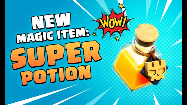 Clash Of Clans New Update!- Super Potion Spell Update| Winter update in Coc | Super Troops